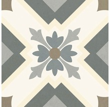 Feinsteinzeug Wand- und Bodenfliese Heritage taco grey 16,5 x 16,5 cm
