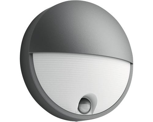 LED Sensor Außenwandleuchte 1x6W 600 lm warmweiß Capricorn anthrazit