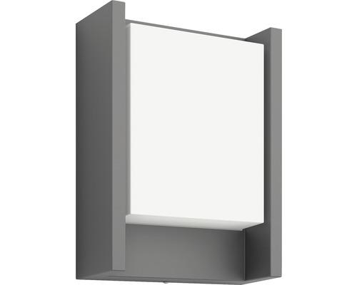 LED Außenwandleuchte 1x6W 600 lm warmweiß Arbour anthrazit