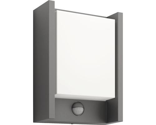 LED Sensor Außenwandleuchte 1x6W 600 lm warmweiß Arbour anthrazit