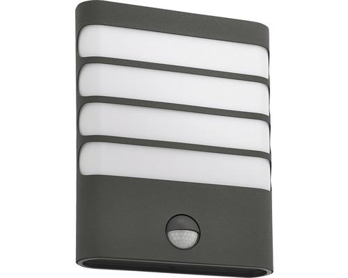 LED Sensor Außenwandleuchte 1x3W 270 lm 2700 k warmweiß Raccoon anthrazit