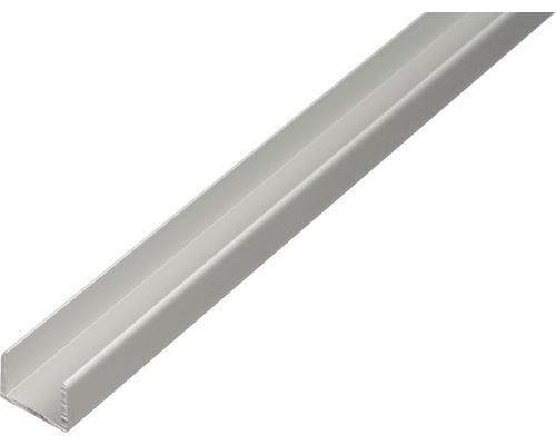 U-Profil Aluminium 10,9x10x1,5 mm, 1 m
