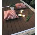 Konsta WPC Terrassendielen Set braun 9 m² inkl. WPC Terrassendielen, Unterkonstruktion und Montagematerial