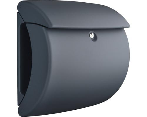 Burg Wächter Briefkasten Kunststoff BxHxT 400/380/178 mm Pearl 886 granit mit Öffnungsstopp
