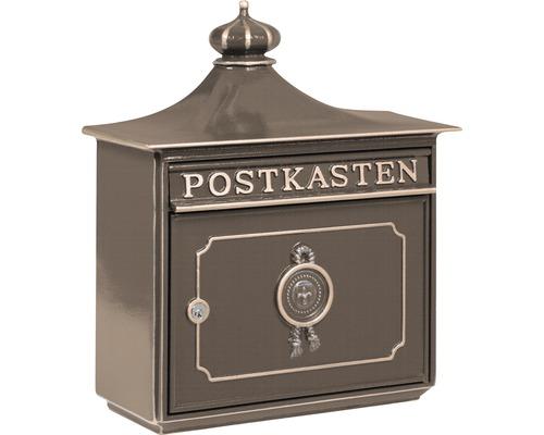 Burg Wächter Briefkasten Metall BxHxT 480/425/180 mm Bordeaux 1895 bronze