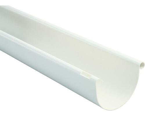 Marley Dachrinne halbrund Nennweite 100 weiß Länge 2,00m