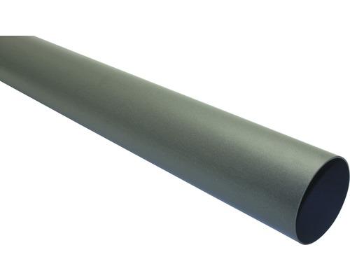 Marley Fallrohr Nennweite 75mm Länge 1,00m anthrazit metallic