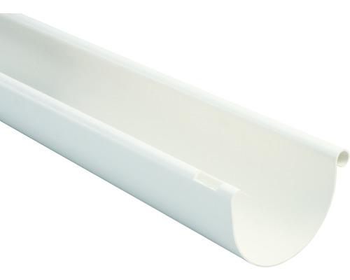 Marley Dachrinne halbrund Nennweite 75 weiß Länge 2,00m