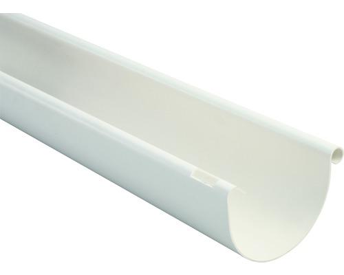 Marley Dachrinne halbrund Nennweite 75 weiß Länge 3,00m