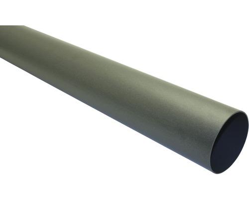 Marley Fallrohr Nennweite 53mm Länge 2,50m anthrazit metallic
