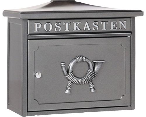 Burg Wächter Briefkasten Stahl verzinkt BxHxT 345/410/205 mm Sylt 1883 Alteisen mit Klappe