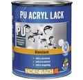 Buntlack PU Acryllack glänzend RAL 9005 tiefschwarz 2 l