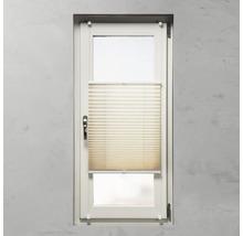 Soluna Plissee-Faltstore mit Seitenverspannung, natur, 45x130 cm