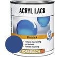 Buntlack Acryllack glänzend enzianblau 375 ml