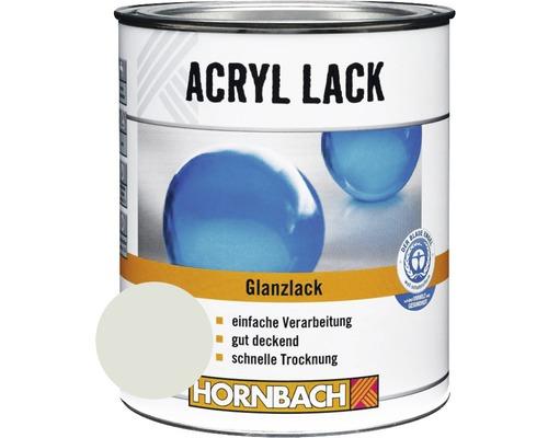 Buntlack Acryllack glänzend lichtgrau 750 ml