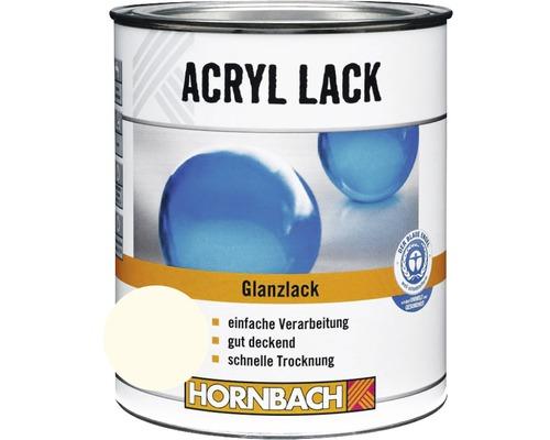 Buntlack Acryllack glänzend reinweiß 125 ml