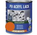 Buntlack PU Acryllack seidenmatt indesit orange 750 ml