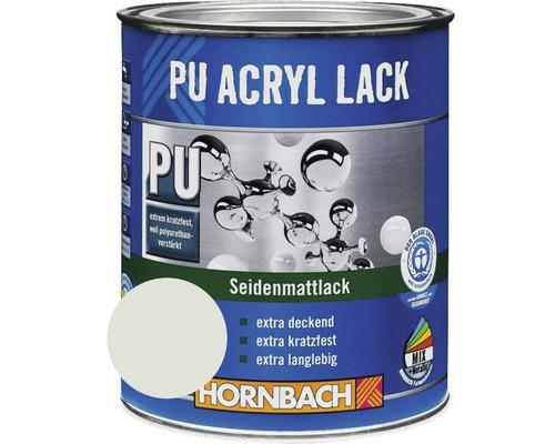 Buntlack PU Acryllack seidenmatt RAL 7035 lichtgrau 375 ml