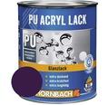 Buntlack PU Acryllack glänzend vitelotte violett 375 ml
