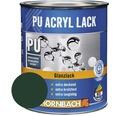 Buntlack PU Acryllack glänzend RAL 6005 moosgrün 750 ml