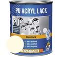 Buntlack PU Acryllack glänzend RAL 9001 cremeweiß 125 ml