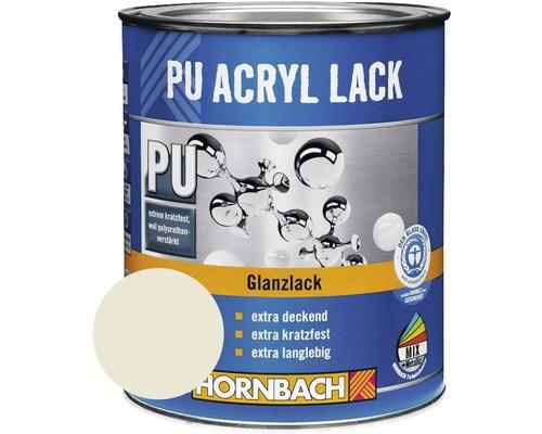 Buntlack PU Acryllack glänzend RAL 9002 grauweiß 750 ml