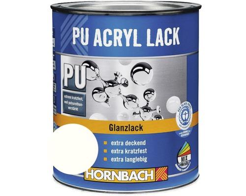 Buntlack PU Acryllack glänzend glacierweiß 125 ml