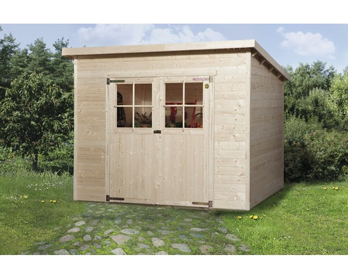 Gartenhaus weka 325 Gr.2 198 x 194 cm natur