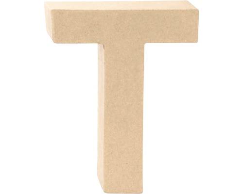 Buchstabe T Pappe 17,5x5,5 cm