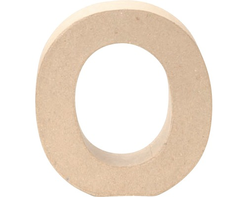 Buchstabe O Pappe 17,5x5,5 cm