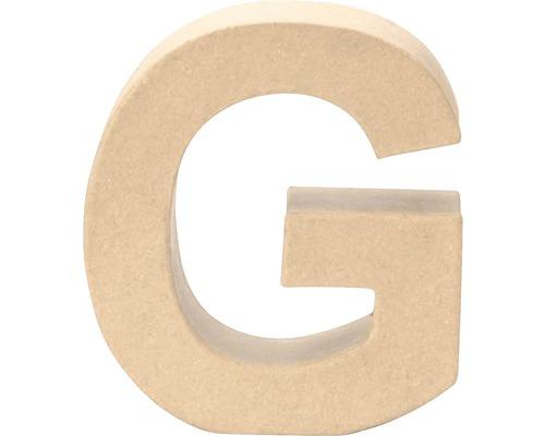 Buchstabe G Pappe 17,5x5,5 cm