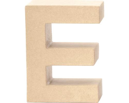 Buchstabe E Pappe 17,5x5,5 cm