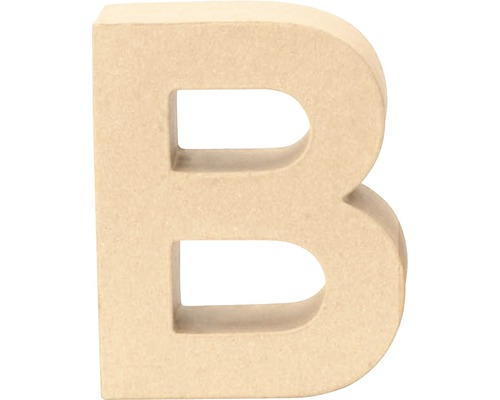 Buchstabe B Pappe 17,5x5,5 cm