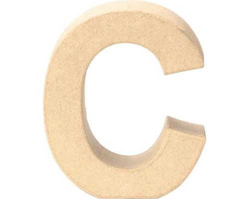 Buchstabe C Pappe 17,5x5,5 cm