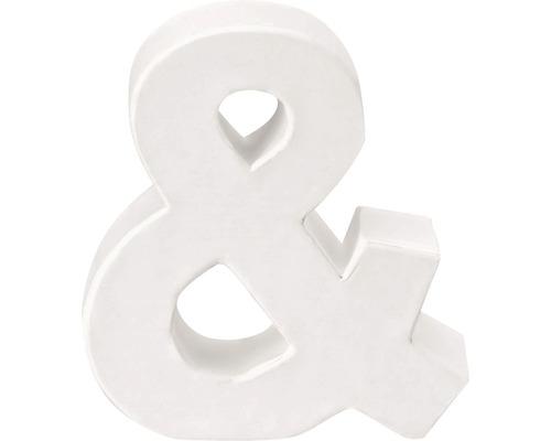 Zeichen & Pappe weiß 3,5x10 cm