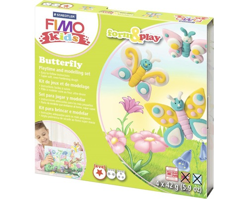 Kreativset Fimo kids form & play Butterfly