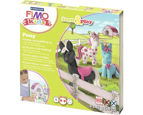 Kreativset Fimo kids form & play Pony