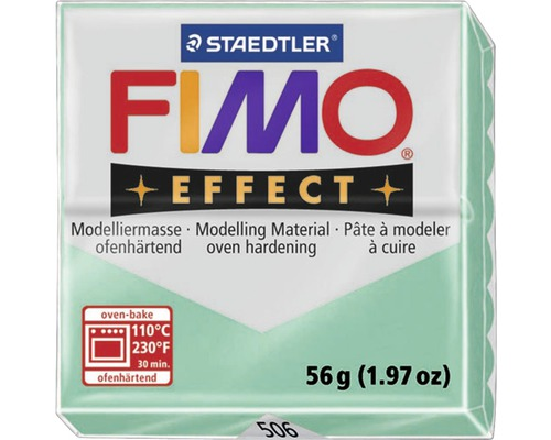 Modelliermasse Fimo Effect 57 g jade green transparent