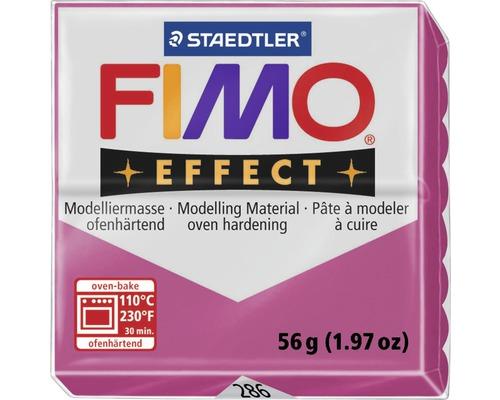 Modelliermasse Fimo Effect 57 g ruby-quarz