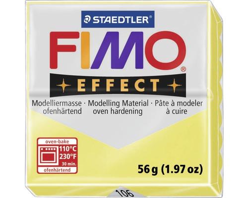Modelliermasse Fimo Effect 57 g citron transparent