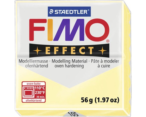 Modelliermasse Fimo Effect 57 g vanilla