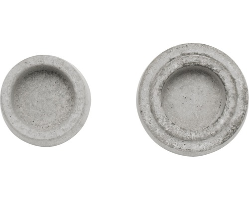 Gießform Relief Teelichthalter 6x7 cm