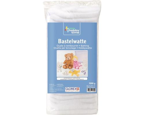 Bastelwatte 1000 g weiß