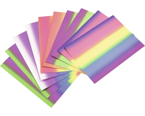 Fotokarton regenbogen 50x70 cm