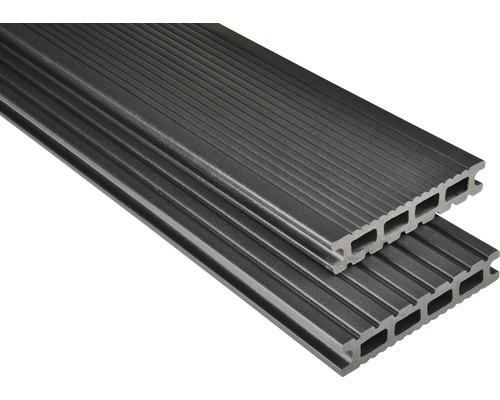 Konsta WPC Terrassendiele Futura graubraun mattiert 26x145x5500 mm