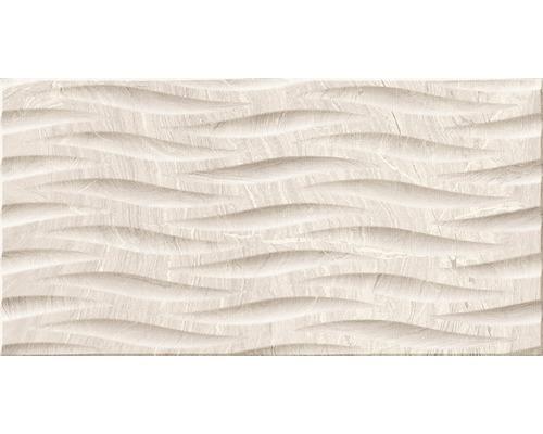 Feinsteinzeug Dekorfliese Varana Almond 32 x 62,5 cm