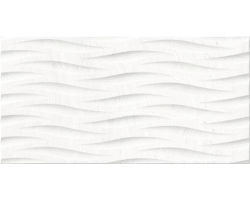 Feinsteinzeug Dekorfliese Varana blanco 32 x 62,5 cm