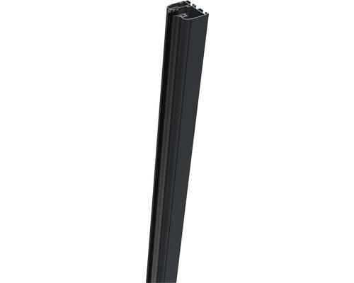 Klemmschiene Belfort rechts 181 cm, aluminium-grau