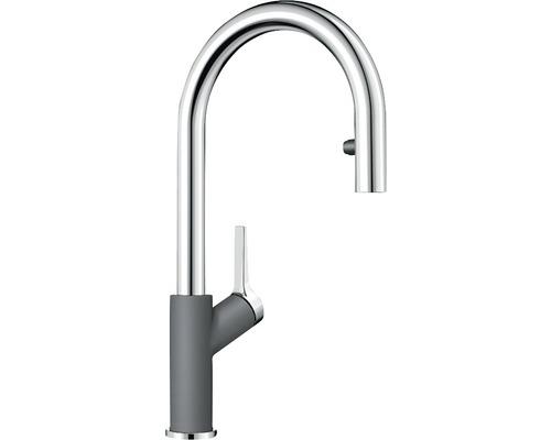 Küchenarmatur BLANCO 521359 felsgrau/chrom