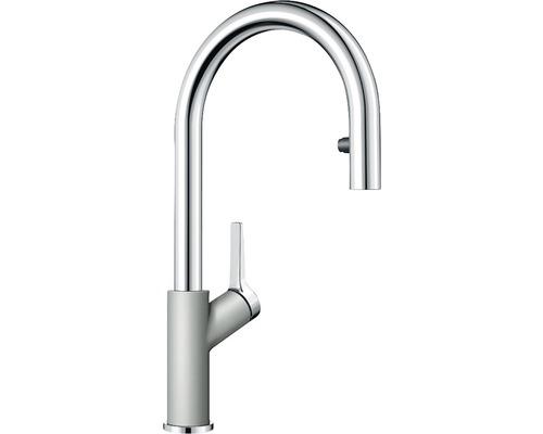 Küchenarmatur BLANCO 521367 perlgrau/chrom